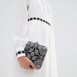 🌟HP🌟 ASOS Park Lane Hand-Embroidered Evening Bag